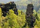 Szwajcaria Saksońska - doskonała dla miłośników skalnych miast i zamków [NIEMCY]