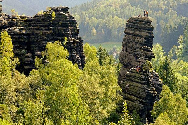 Szwajcaria Sakso�ska - doskona�a dla mi�o�nik�w skalnych miast i zamk�w [NIEMCY]
