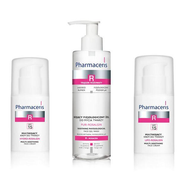 Pharmaceris R - dermopielęgnacja skóry z trądzikiem różowatym