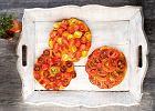 Ma�e pizze z pomidorkami koktajlowymi