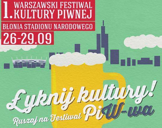 I Warszawski Festiwal Piwa - skosztuj piwa, �yknij wiedzy, jak powstaje