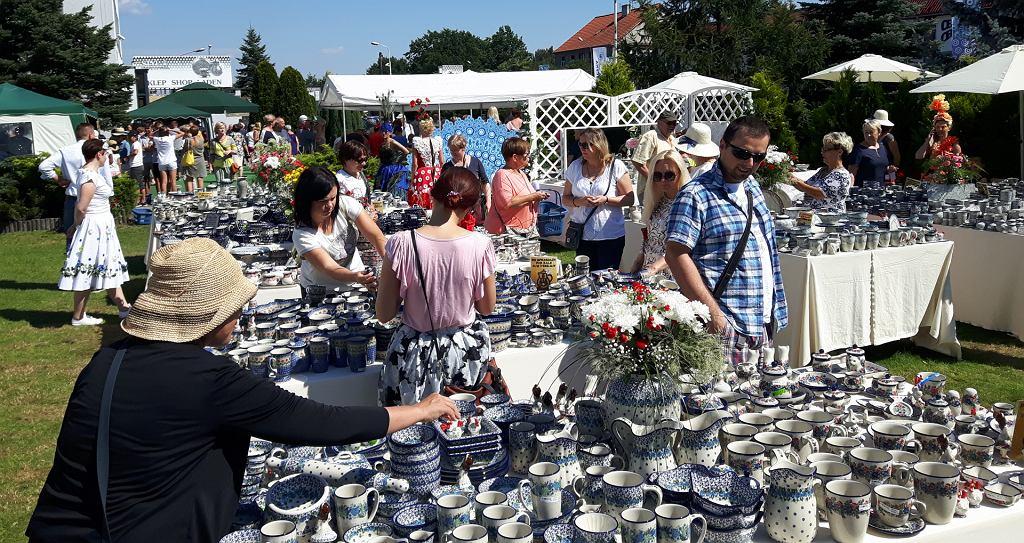 Firmy eksponowały również swoje wyroby na przyzakładowych kiermaszach ceramicznych / Fot. Mat. UM Bolesławiec