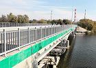 Remont mostku na Sadybie trwał tyle co budowa A2