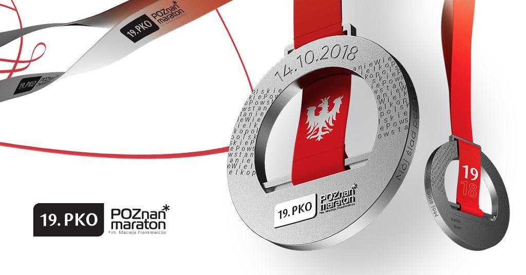 Medal Poznań Maraton 2018