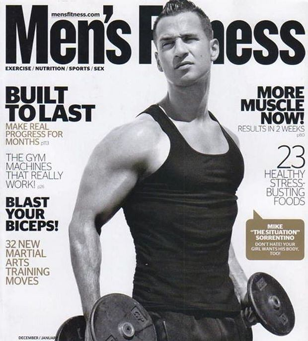 "Men's Health Mike ""The Situation"""