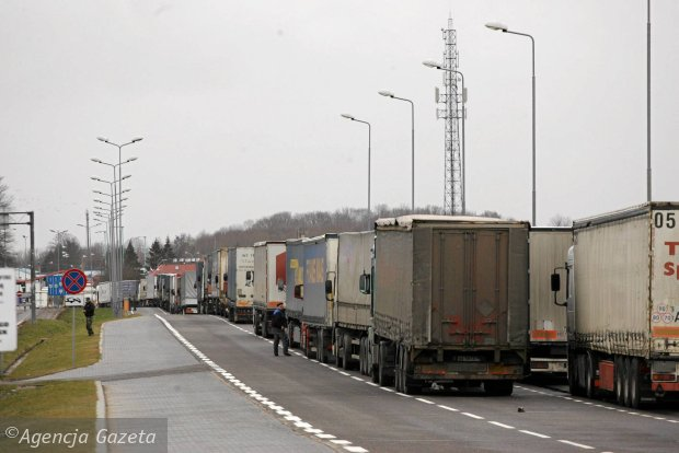 Новые проблемы польских грузоперевозчиков в России