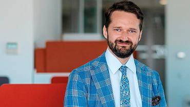 Mateusz Bieda, menedżer w PricewaterhouseCoopers