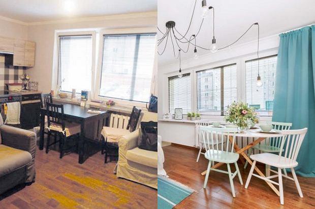 Metamorfoza salonu z kuchnią. Jak stworzyć ciekawą aranżację wnętrza przy niskim budżecie?