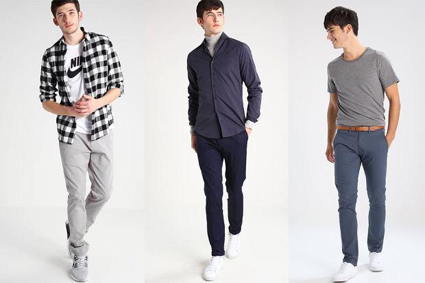 Chinosy - spodnie casualowe