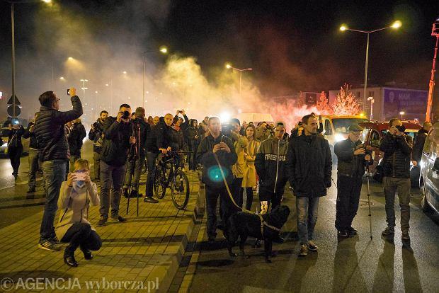 Zdjęcie numer 12 w galerii - Lech Poznań ma już swoją lokomotywę. Parowóz stanął przed stadionem przy Bułgarskiej