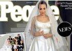 Stylizacja �lubna Angeliny Jolie - pi�kna, zaskakuj�ca, wzruszaj�ca, czy mo�e raczej rozczarowuj�ca i nieudana...? Komentujemy!