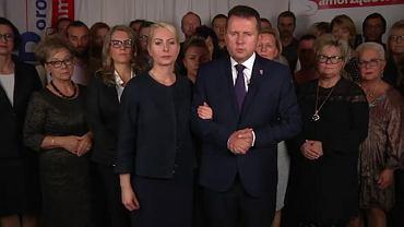 Wybory samorządowe 2018. Ubiegający się o reelekcję prezydent Legionowa Roman Smogorzewski przeprasza za żarty z kandydatek