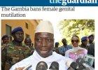 Gambia zabrania okaleczania żeńskich narządów płciowych