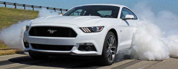 Ford Mustang GT Line-Lock | Kłęby dymu w standardzie