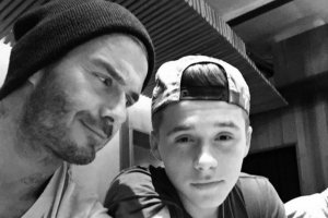 David i Brooklyn Beckham