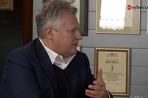 Aleksander Kwaśniewski o wyborach w USA: Wybór Trumpa to wybór przeciwko Waszyngtonowi