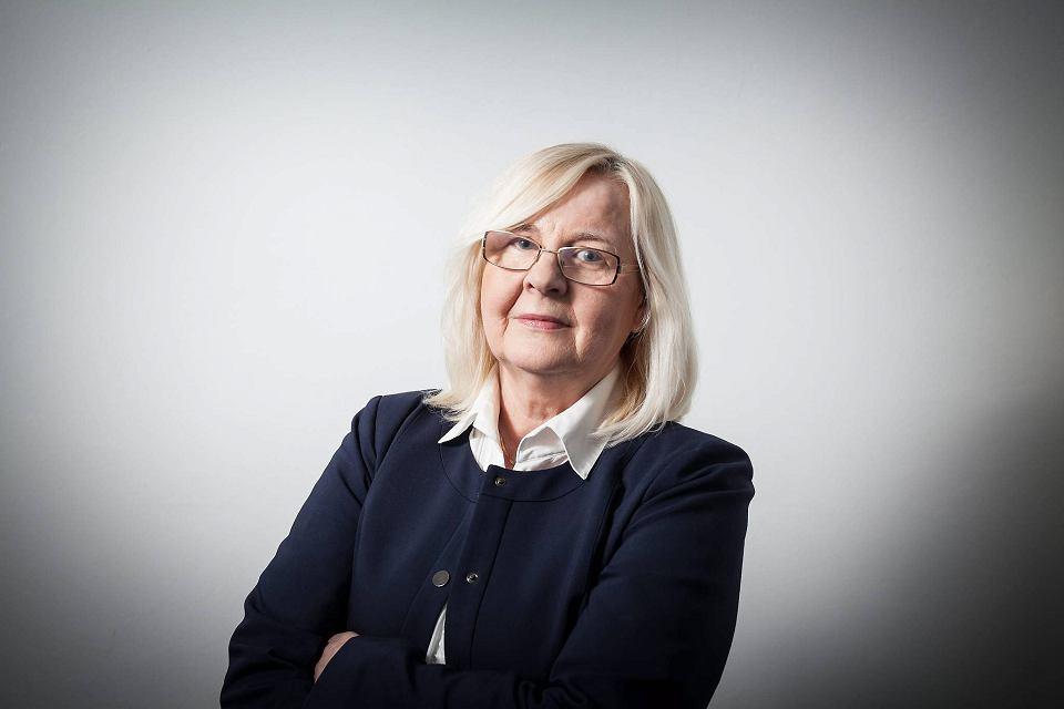 Krystyna Kacpura, dyrektorka Federacji na rzecz Kobiet i Planowania Rodziny