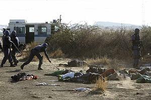 Policja w RPA zastrzeliła 36 strajkujących górników