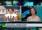 """Ukraińska dziennikarka przerywa wywiad dla prokremlowskiej stacji. """"Russia Today, przestańcie kłamać"""""""