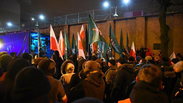 Marsz pamięci ofiar żołnierzy wyklętych próbowali zablokować członkowie ONR