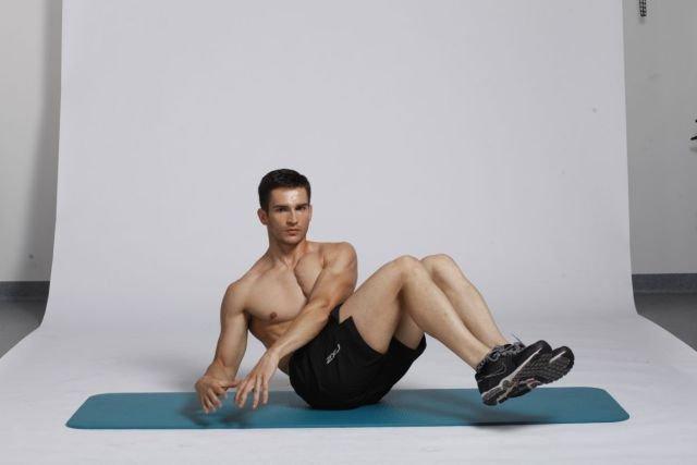 Ćwiczenie na skośne mięśnie brzucha