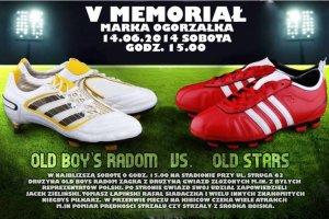 Mecz ku pamięci piłkarza Zielonych Marka Ogorzałka