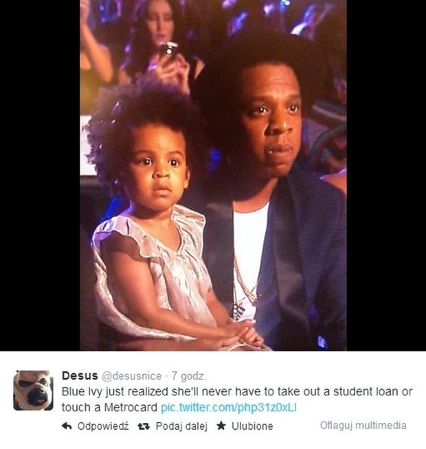 Blue Ivy, Jay Z