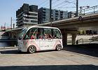Na ulice Paryża wyjechały pierwsze minibusy bez kierowców