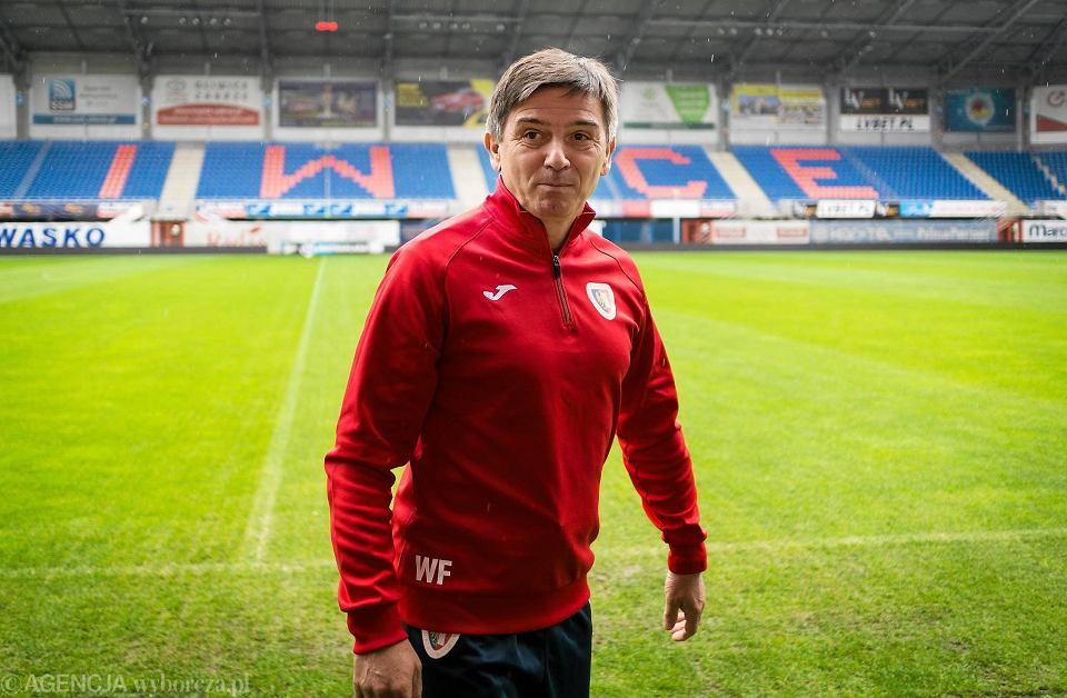 Waldemar Fornalik jako trener Piasta Gliwice