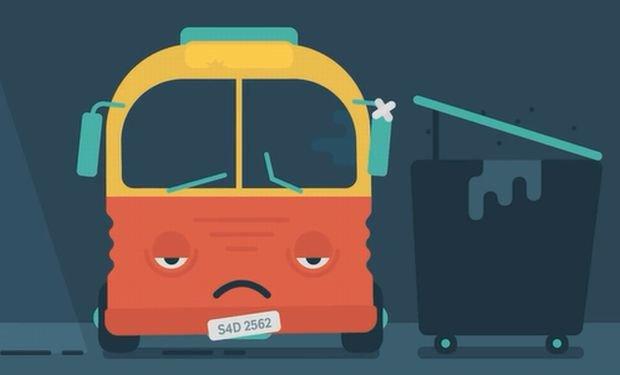 Internauci broni� smutnego autobusu: Co za sadyzm, bezduszno��, egoizm... MSW i ekspert zdziwieni: To �wietny spot!