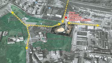 W tym miejscu stanie nowe Muzeum Powstania Wielkopolskiego.
