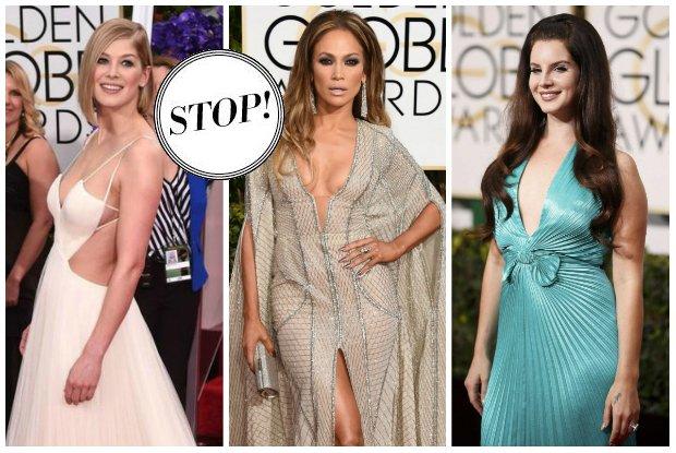 Z�ote Globy 2015: Najgorsze stylizacje gwiazd [15 WPADEK]