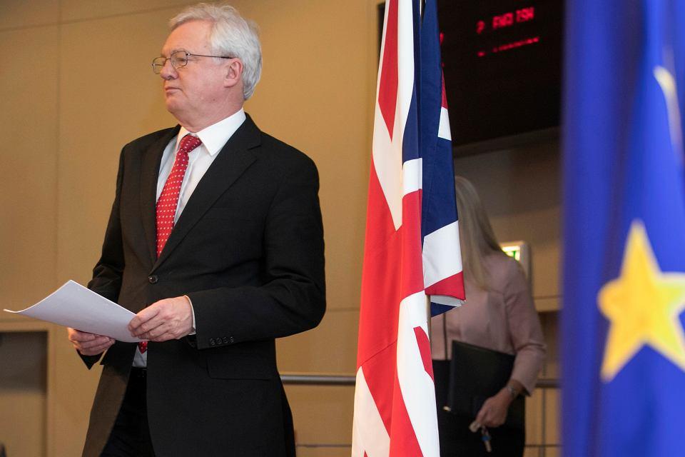 Kolejna runda rozmów o Brexicie, na zdjęciu David Davis