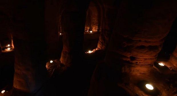 Zdjęcie numer 4 w galerii - Królicza nora okazała się tajemnym przejściem do ponad 700-letniej jaskini templariuszy [WIDEO]