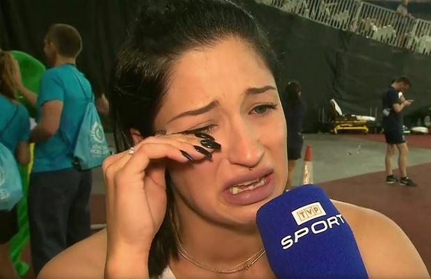 Ewa Swoboda w rozmowie z TVP Sport po biegu w Pucharze Świata w Londynie