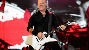 Gitarzysta i wokalista Metalliki James Hetfield.