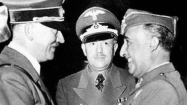 Generał Francisco Franco i Adolf Hitler