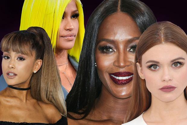 """""""Mokra Włoszka"""", brokat i zero makijażu. 6 trendów z gali MTV Video Music Awards 2016"""