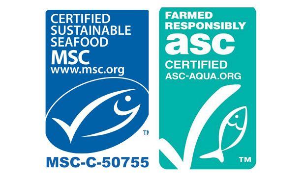 Certyfikaty MSC i ASC