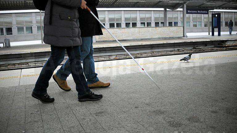 Ścieżki prowadzące dla niewidomych
