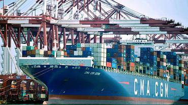 Port Qingdao w Chinach