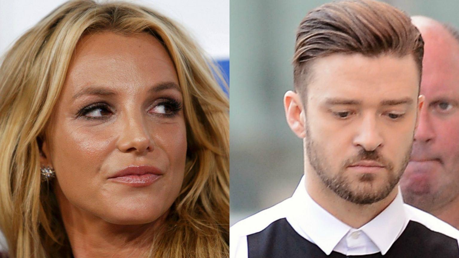 Justin Timberlake uderzał w Britney Spears wiele razy. Ona ...