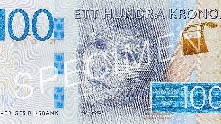 Banknot o nominale 100 koron