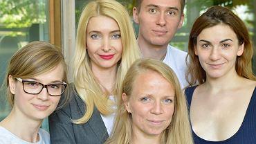 Testujemy współpracę ze skin coach Bożeną Społowicz (druga od lewej).