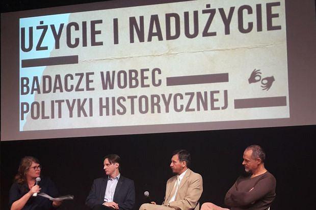 Agnieszka Lichnerowicz oraz prof. Mariusz Mazur, dr Grzegorz Kuprianowicz i prof. Rafał Wnuk