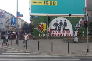 Swastyki znikn�y z muralu na Ko���taja [ZDJ�CIA]