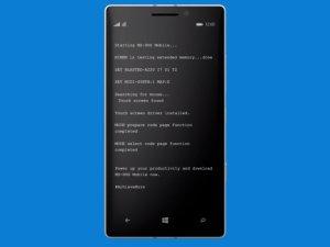 MS-DOS dla Windows Phone! Wreszcie dost�pny!