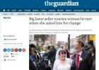 Poślubiła bezdomnego, który opłacił jej zaległy rachunek za światło