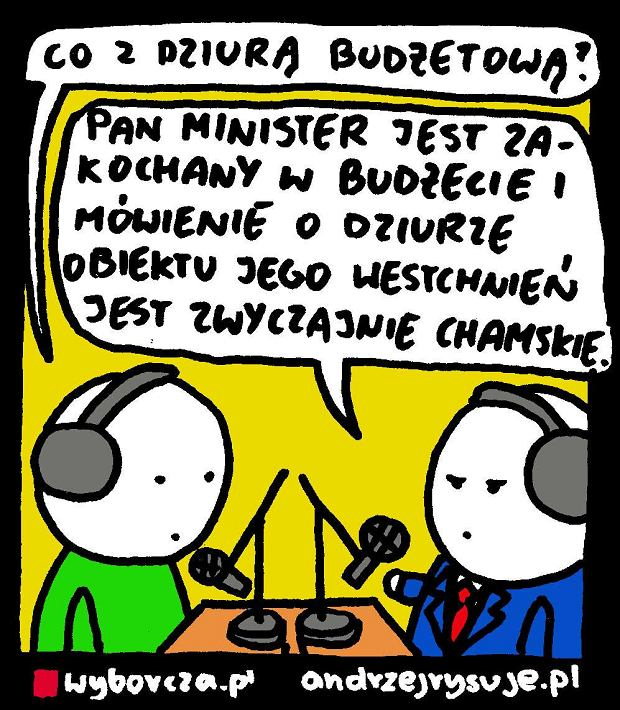 Andrzej Rysuje | Mi�o�� do bud�etu -  -