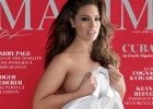 """Magazyn """"Maxim"""" po raz pierwszy pokazuje modelkę plus size na okładce. Bardzo odważna sesja Ashley Graham"""